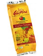 Gustoni, Cracker Tomate mit Oregano, 250g Packung