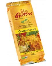 Gustoni, Cracker Sesam mit Rosmarin, 250 g Packung