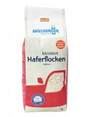 Spielberger, Haferflocken, Kleinblatt, demeter, 1kg Packung