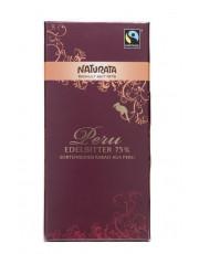 Naturata, Schokolade Edelbitter Peru 75%, 100g Tafel