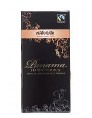 Naturata, Schokolade Edelbitter Panama 80%, 100g Tafel