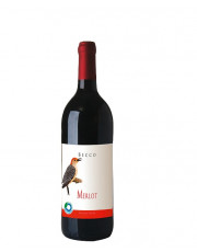 Merlot IGT 2018 Becco, (Vogelserie), MEHRWEG, 1l Flasche incl. 0,15 € Pfand