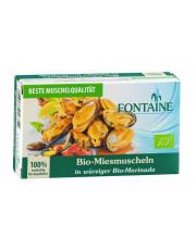 Fontaine, Bio-Miesmuscheln in würziger Bio-Marinade, 120g Dose (85g)