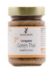 Sanchon, Green Thai Curry Paste, 190g Glas