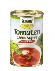 Ökoland, Tomaten-Creme Suppe, hefefrei, vegetarisch, 400ml Dose