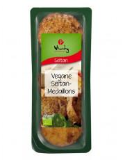 Topas, Wheaty Vegane Seitan-Medaillons, 175g Packung