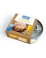 Followfish, Thunfischfilets in Bio-Sonnenblumenöl, 185g Dose (130g)