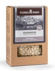 Flores Farm, Premium Zedernüsse, 80g Packung