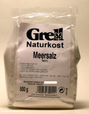 Grell, Meersalz, 500g Packung