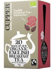 Cupper, Englisch Breakfast Tea, 2,5g, 20 Btl. Packung