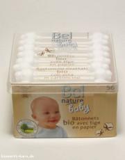 Bel Nature, Baby Wattestäbchen, 56 Sück Packung