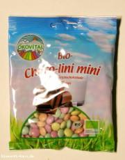 Ökovital, Choco-Lini-Minis Schokolinsen, glutenfrei, 100g Packung