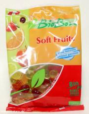 BioBon, Soft Fruits, ohne Gelatine, 100g Packung