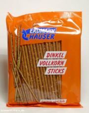 ErdmannHauser, Dinkel-Vollkorn - Sticks, 100 g Packung