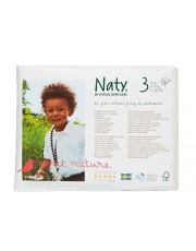 Naty, , Windeln Gr. 3, 4-9kg, 31 Stück Packung