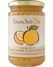 Fattoria Sicilsole, Bitterorangen Marmelade, 370g Glas