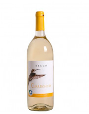 Chardonnay  IGT 2018 Becco, (Vogelserie), MEHRWEG, 1l Flasche inkl. 0,15 € Pfand