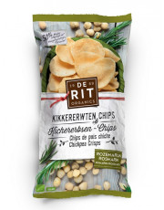 De Rit, Kichererbsen-Chips mit Rosmarin, 75g Packung