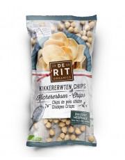 De Rit, Kichererbsen-Chips mit Meersalz, 75g Packung