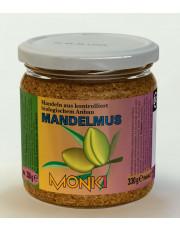Monki, Mandelmus (geröstet u. gesalzen), 330g Glas