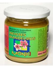 Monki, Mandelmus weiß, 330g Glas