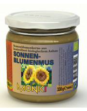 Monki, Sonnenblumenmus, 330g Glas