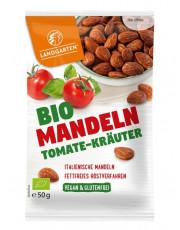 Landgarten, Bio-Mandeln Tomate-Kräuter, 50g Beutel