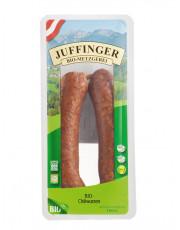 Metzgerei Juffinger, Chiliwurzen R+S, 140g Packung (2 Stück)