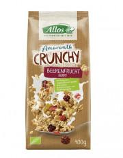 Allos, Amaranth Crunchy Beerenfrucht, 400g Packung