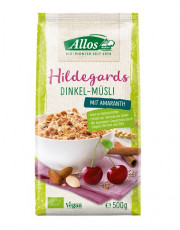 Allos, Hildegards Dinkel-Müsli, 500g Packung
