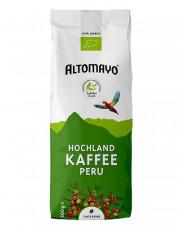 Altomayo, Hochland Kaffee Peru, ganze Bohne, 500g Packung
