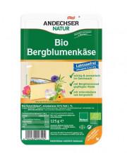 Andechser Natur, Bergblumenkäse in Scheiben, mind. 50% Fett i. Tr., laktosefrei,  125g Packung