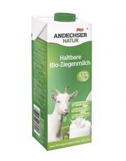 Andechser Natur, H-Ziegenmilch, 3,0% Fett, 1l Tetra Pack