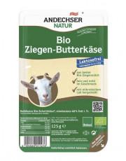 Andechser Natur, Ziegenbutterkäse in Scheiben, laktosefrei,  125g Packung