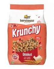 Barnhouse, Krunchy  Dinkel, weizenfrei, 600g Packung