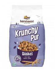 Barnhouse, Krunchy Pur Dinkel, weizenfrei, 375g Packung