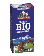 Berchtesgadener Land, Haltbare Alpen-Milch 3,5%, 1l Tetra Pack