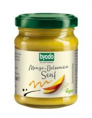 byodo, Mango-Balsamico Senf, extra fruchtig-süß,  125ml Glas