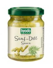 Byodo, Senf-Dill-Sauce, 125ml Glas