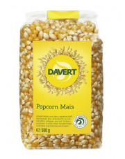 Davert, Popcorn Mais, 500g Packung