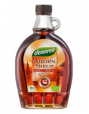 dennree, Ahornsirup Grad C, kräftig, 375ml Flasche