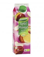 dennree, Apfel Mango Saft, ohne Zuckerzusatz, 1l Elopak