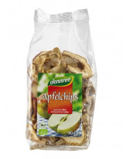 dennree, Apfelchips, 90g Packung