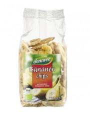 dennree, Bananenchips, 150g Packung