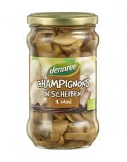 dennree, Champignons geschnitten, 2. Wahl, 280g Glas