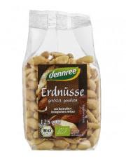 dennree, Erdnüsse, geröstet u. gesalzen, 125g Packung