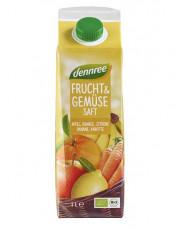 dennree, Frucht & Gemüsesaft, 1l Elopak