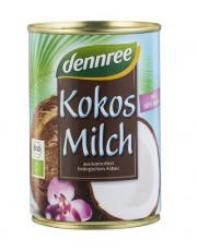 dennree, Kokosmilch, 60% Kokos, 400ml Dose