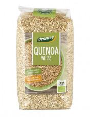 dennree, Quinoa weiß, 500g Packung