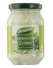 dennree, Remouladen-Creme mit Kräutern, 250ml Glas